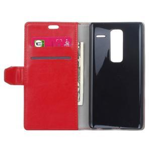 Sitt PU kožené pouzdro na mobil LG Zero - červené - 4