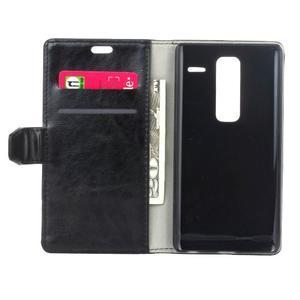 Sitt PU kožené pouzdro na mobil LG Zero - černé - 4
