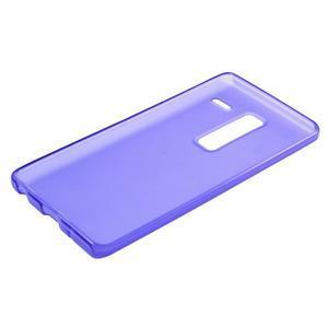Matný gelový obal na mobil LG Zero - fialový - 4