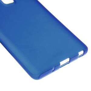 Matný gelový obal na mobil LG Zero - modrý - 4