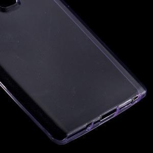 Ultratenký slim gelový obal na LG Zero - fialový - 4