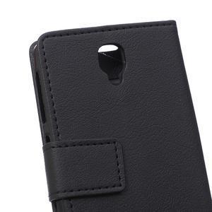 Wallet pouzdro na mobil Lenovo A1000 - černé - 4