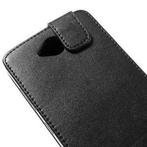 Flipové pouzdro na mobil Microsoft Lumia 650 - černé - 4