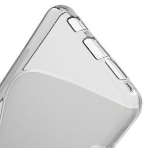S-line gelové obal na mobil Samsung Galaxy A3 (2016) - šedý - 4