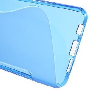 S-line gelové obal na mobil Samsung Galaxy A3 (2016) - modrý - 4