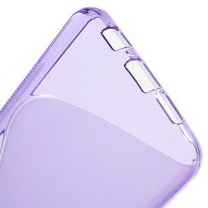 S-line gelové obal na mobil Samsung Galaxy A3 (2016) - fialový - 4