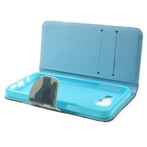 Peňaženkové puzdro pre mobil Samsung Galaxy A3 (2016) - kamufláž - 4