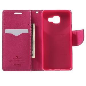 Goospery peněženkové pouzdro na Samsung Galaxy A3 (2016) - růžové - 4