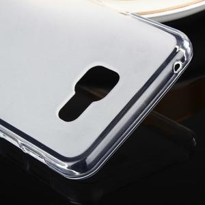 Matný gelový obal pro Samsung Galaxy A3 (2016) - bílý - 4