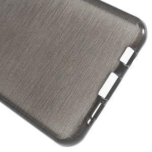 Gelový obal s motivem broušení na Samsung Galaxy A3 (2016) - černý - 4