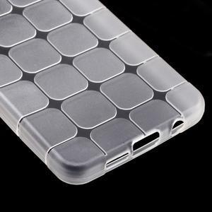 Cube gelový obal na mobil Samsung Galaxy A3 (2016) - transparentní - 4