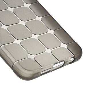 Cube gelový obal na mobil Samsung Galaxy A3 (2016) - šedý - 4