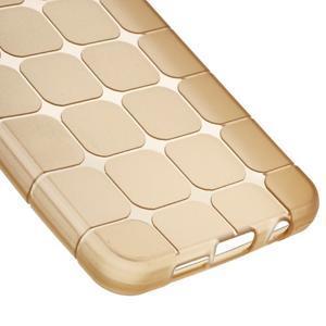 Cube gelový obal na mobil Samsung Galaxy A3 (2016) - zlatý - 4
