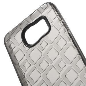 Square gelový obal na mobil Samsung Galaxy A3 (2016) - šedý - 4