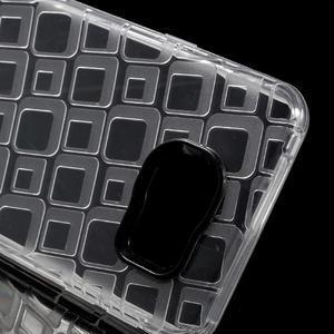 Square gelový obal na mobil Samsung Galaxy A3 (2016) - transparentní - 4