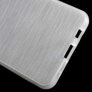 Gelový obal s motivem broušení na Samsung Galaxy A3 (2016) - bílý - 4