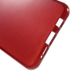 Gelový obal s motivem broušení na Samsung Galaxy A3 (2016) - červený - 4