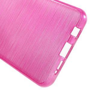 Gelový obal s motivem broušení na Samsung Galaxy A3 (2016) - rose - 4