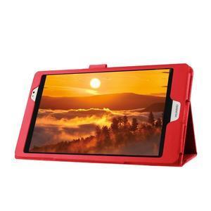 Safe polohovatelné pouzdro na tablet Huawei MediaPad M2 8.0 - červené - 4