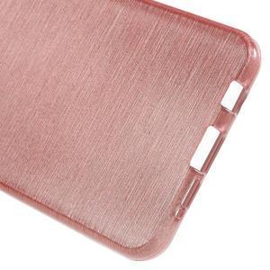 Gelový obal s motivem broušení na Samsung Galaxy A3 (2016) - růžový - 4