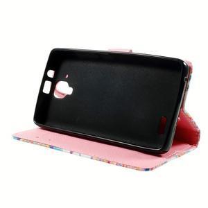 Peňaženkové puzdro pre mobil Lenovo A536 - mandala - 4