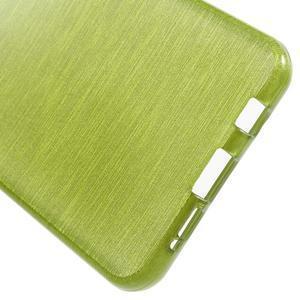 Gelový obal s motivem broušení na Samsung Galaxy A3 (2016) - zelený - 4