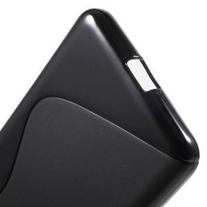 S-line gelový obal na mobil Microsoft Lumia 650 - černý - 4