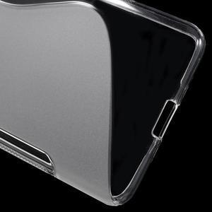 S-line gelový obal na mobil Microsoft Lumia 650 - transparentní - 4