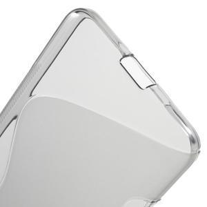 S-line gelový obal na mobil Microsoft Lumia 650 - šedý - 4