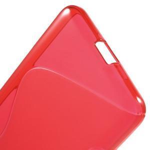 S-line gelový obal na mobil Microsoft Lumia 650 - červený - 4