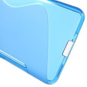S-line gelový obal na mobil Microsoft Lumia 650 - modrý - 4