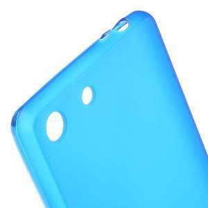 Matný gelový kryt pro Sony Xperia M5 - modrý - 4