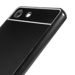 Kryt s kovovým obvodem pro Sony Xperia M5 - černý - 4