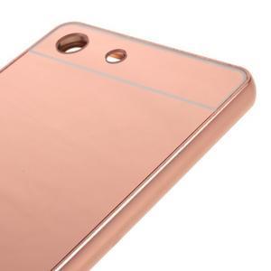 Kryt s kovovým obvodem pro Sony Xperia M5 - rose gold - 4