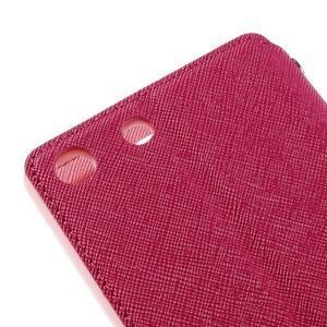 Diary pouzdro s okýnkem na Sony Xperia M5 - rose - 4