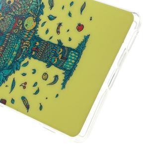 Gelovy obal na mobil Sony Xperia M5 - strom soviček - 4