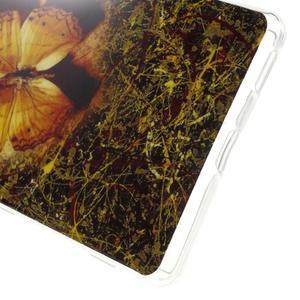 Gelovy obal na mobil Sony Xperia M5 - motýl - 4