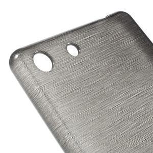 Brush gelový obal pro Sony Xperia M5 - šedý - 4