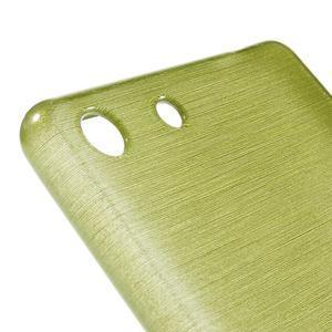 Brush gelový obal pro Sony Xperia M5 - zelený - 4