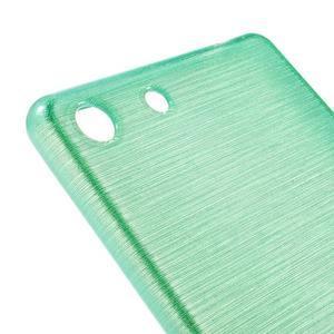 Brush gelový obal pro Sony Xperia M5 - cyan - 4