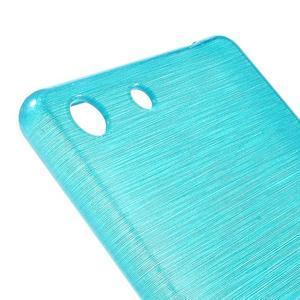 Brush gelový obal pro Sony Xperia M5 - modrý - 4