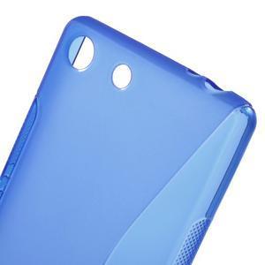 S-line gelový obal na mobil Sony Xperia M5 - modré - 4