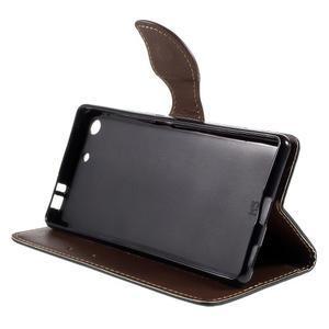 Blade peněženkové pouzdro na Sony Xperia M5 - černé - 4