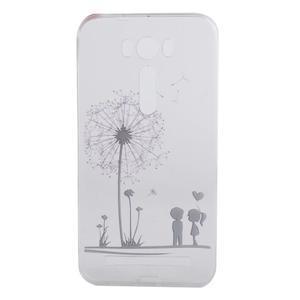 Softy gelový obal na mobil Asus Zenfone 2 Laser - láska - 4