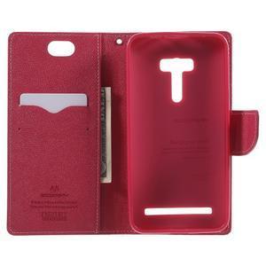 Mr. Goos peněženkové pouzdro na Asus Zenfone Selfie ZD551KL - růžové - 4
