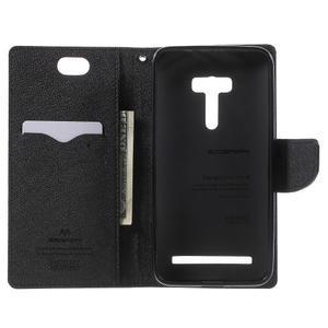 Mr. Goos peněženkové pouzdro na Asus Zenfone Selfie ZD551KL - černé - 4
