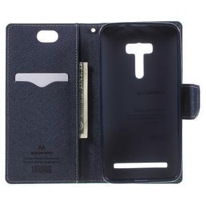 Mr. Goos peněženkové pouzdro na Asus Zenfone Selfie ZD551KL - cyan - 4