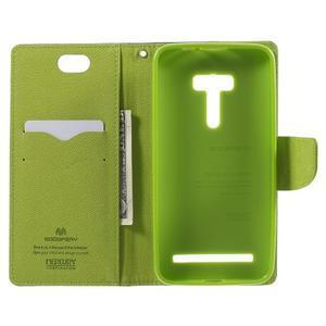 Mr. Goos peněženkové pouzdro na Asus Zenfone Selfie ZD551KL - tmavěmodré - 4