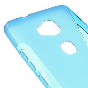 S-line gelový obal na mobil Honor 5X - modrý - 4