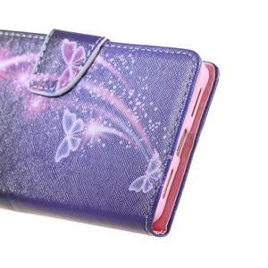 Knížkové pouzdro na mobil Honor 5X - kouzelní motýlci - 4